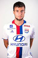 Emanuel Mammana during the photocall of Lyon for new season of Ligue 1 on September 22nd 2016 in Lyon<br /> Photo : OL / Icon Sport
