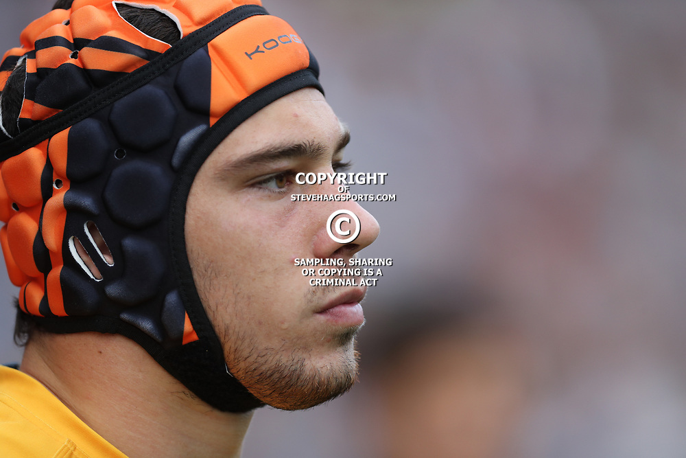 Guido Petti of the Jaguares during the Super Rugby match between the Cell C Sharks and the Jaguares  April 8th 2017 - at Growthpoint Kings Park,Durban South Africa Photo by (Steve Haag)