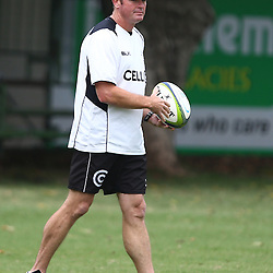 DURBAN, SOUTH AFRICA, 17 November 2015 - Sean Everitt (Assistant Coach) of the Cell C Sharks during The Pre-season training squad and coaching team announcement at Growthpoint Kings Park in Durban, South Africa. (Photo by Steve Haag)<br /> images for social media must have consent from Steve Haag