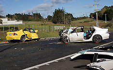 Aucland-Fatal accident Blackridge Road, Karaka