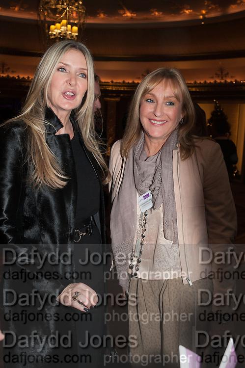 AMANDA WAKELEY; LIZ DOOGAN-HOBBS;; Natwest Everywoman awards reception. The Dorchester Hotel. London. 5 December 2012.