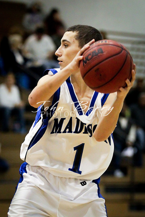 January/12/12:  MCHS JV Boy's Basketball vs Clarke.  Madison loses to Clarke 47-21.