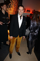 DAVID FURNISH at the launch party for Donna Karan's new fragrance Gold held at the Donna Karan store, 19 New Bond Street, London on 16th November 2006.<br />