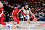 Vitali LucaVitali Luca<br /> A|X Armani Exchange Olimpia Milano - Germani Basket Brescia<br /> Basket Serie A LBA 2019/2020<br /> MIlano 29 September 2019<br /> Foto Mattia Ozbot / Ciamillo-Castoria