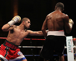 May 21, 2010; New York, NY; USA; Sadam Ali defeats Martinus Clay via decision in their bout at the Capitale in NYC.