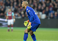 Football - 2016 / 2017 Premier League - West Ham United vs. Stoke City<br /> <br /> Lee Grant of Stoke City at The London Stadium.<br /> <br /> COLORSPORT/DANIEL BEARHAM
