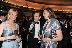 Left to right, the EARL & COUNTESS OF DERBY and SERENA SOAMES at the 21st Cartier Racing Awards held at The Dorchester, Park Lane, London on 15th November 2011.