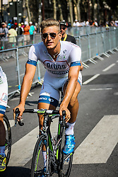 Versailles, France - Tour de France :: Stage 21 - 21th July 2013 - Marcel KITTEL (Team Argos-Shimano) cycling to the start