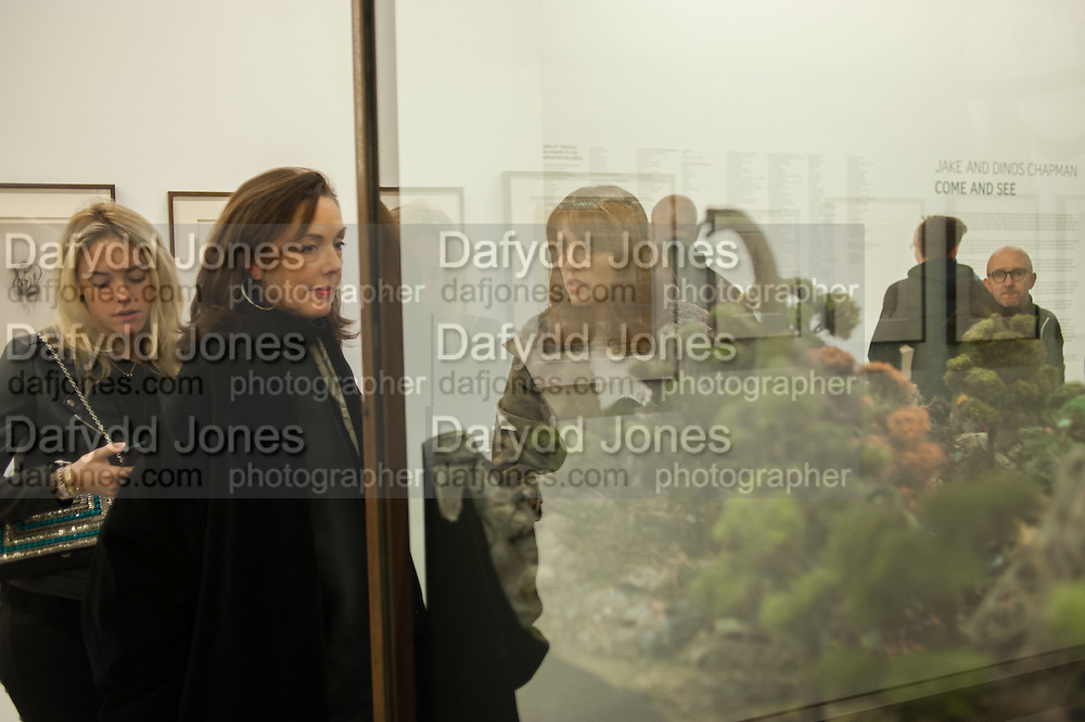 CONNIE GREER; JUDITH GREER; TANIA FARES , Come and See, Jake and Dinos Chapman, Serpentine Sackler Gallery. Serpentine Galleries Special Private View, 29 November 2013