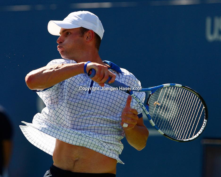 US Open 2010, USTA Billie Jean National Tennis.Center, New York,ITF Grand Slam Tennis Tournament . Andy Roddick (USA)