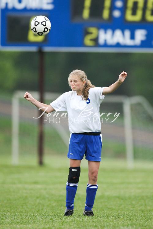 MCHS JV Girls Soccer .vs Clarke .4/30/2009