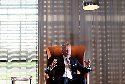 UK ENGLAND LONDON 2NOV17 - Rolls Royce Motor Cars CEO Torsten Müller-Ötvös during an interview at the company HQ in Goodwood, Sussex, England.<br /> <br /> jre/Photo by Jiri Rezac<br /> <br /> © Jiri Rezac 2017