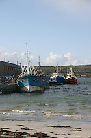 Kilronan Pier, Inis Mor, the Aran Islands, County Galway