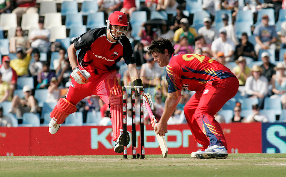 Redbacks player Tom Cooper during match 4 of the Airtel CLT20 held between the Lions and The Redbacks at Supersport Park in Centurion on the 12 September 2010..Photo by: Abbey Sebetha/SPORTZPICS/CLT20