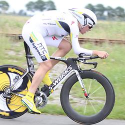 Ellen van Dijk 2nd Dutch Time Trail Championship 2011 behind Marianne Vos