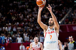 Juan Carlos Navarro of Spain during basketball match between National Teams of Spain and Turkey at Day 11 in Round of 16 of the FIBA EuroBasket 2017 at Sinan Erdem Dome in Istanbul, Turkey on September 10, 2017. Photo by Vid Ponikvar / Sportida