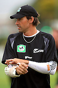 Stephen Fleming prepares to bat.<br /> National Bank Test Match Series, New Zealand v England, Black Caps Nets Practice. Allied Prime Basin Reserve, New Zealand. Tuesday, 11 March 2008. Photo: Dave Lintott/PHOTOSPORT