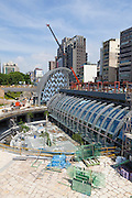 Daan Park MRt Station on the Xinyi line is scheduled to open in December 2012.