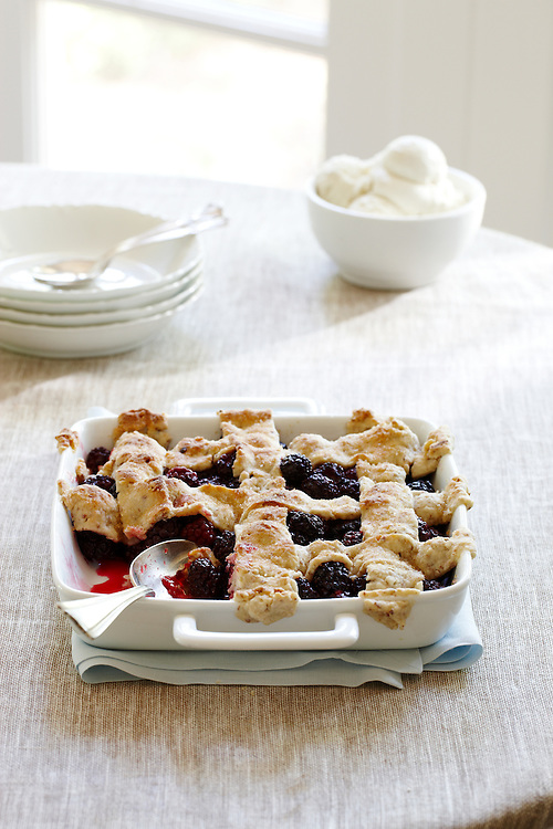 Comfort Food: Blackberry Cobbler