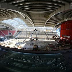 20130405: SLO, Basketball - Reconstruction of Arena Podmezakla in Jesenice