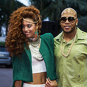 MON/Monaco/20140527 -World Music Awards 2014, Natalie La Rose en Flo Rida