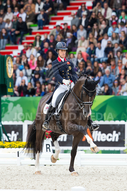 Charlotte Dujardin and Valegro winner Grand Prix Special - Grand Prix Special Dressage - Alltech FEI World Equestrian Games&trade; 2014 - Normandy, France.<br /> &copy; Hippo Foto Team - Leanjo de Koster<br /> 25/06/14