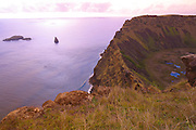 Rano Kau, Volcanic crater, Easter Island (Rapa Nui), Chile<br />