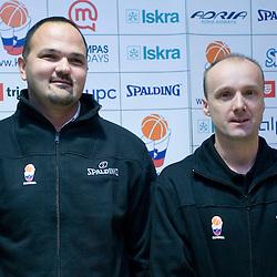 20081125: Basketball - Jure Zdovc and Mario Kraljevic press conference