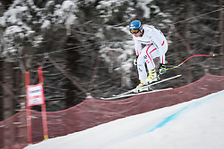 21.02.2013, Kandahar, Garmisch Partenkirchen, AUT, FIS Weltcup Ski Alpin, Abfahrt, Herren, 1. Training, im Bild Georg Streitberger (AUT) // Georg Streitberger of Austria in action during 1st practice of the  mens Downhill of the FIS Ski Alpine World Cup at the Kandahar course, Garmisch Partenkirchen, Germany on 2013/02/21. EXPA Pictures © 2013, PhotoCredit: EXPA/ Johann Groder