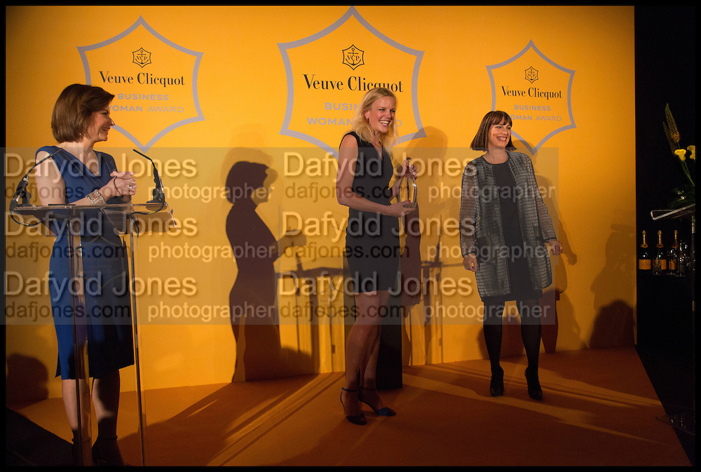 JANE HILL; JENNY DAWSON; Dame Carolyn McCall, Veuve Clicquot 2014 Business Woman of the Year Awards . Claridge's. LONDON. 12 May 2014.