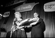 Finals of Housewife of the Year at the Shelbourne Hotel, Dublin. Mrs Sylvia Nagle, Killavullen, Mallow, Co Cork, after she had been chosen as Ireland's Housewife of the Year, in a competition sponsored by McDonnells, the ESB and Woman's Way. .04.11.1968