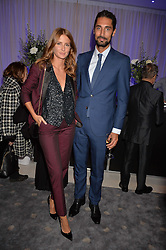 Millie Mackintosh and Hugo Taylor at the Giselle Premier VIP Party, St.Martin's Lane Hotel, London England. 11 January 2017.