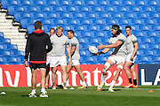 Victor Matfield during the South Africa Captain's Run training session in preparation for the Rugby World Cup at the American Express Community Stadium, Brighton and Hove, England on 18 September 2015. Photo by David Charbit.