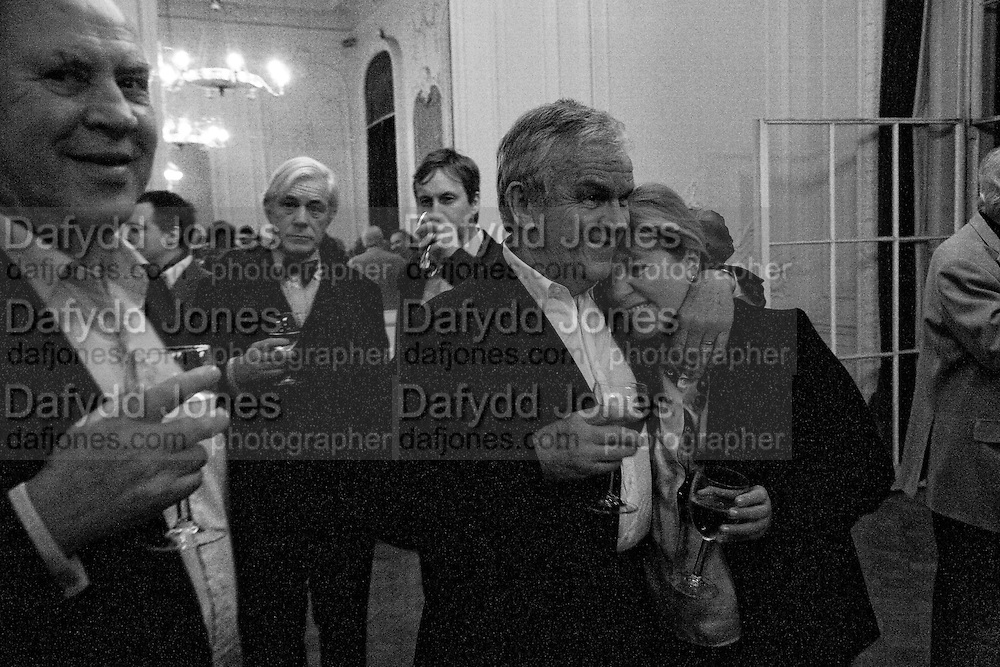 MICHAEL COCKERELL; LORD EVANS; HANNAH ROTHSCHILD, Vanity Fair, Baroness Helena Kennedy QC and Henry Porter launch ' The Convention on Modern Liberty'. The Foreign Press Association. Carlton House Terrace. London. 15 January 2009 *** Local Caption *** -DO NOT ARCHIVE-© Copyright Photograph by Dafydd Jones. 248 Clapham Rd. London SW9 0PZ. Tel 0207 820 0771. www.dafjones.com.<br /> MICHAEL COCKERELL; LORD EVANS; HANNAH ROTHSCHILD, Vanity Fair, Baroness Helena Kennedy QC and Henry Porter launch ' The Convention on Modern Liberty'. The Foreign Press Association. Carlton House Terrace. London. 15 January 2009