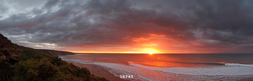 winter sunrise at Winkipop