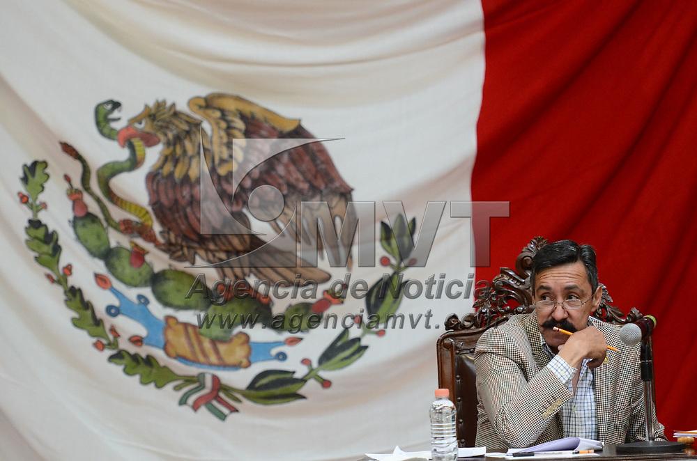Toluca, México.- (Junio 21 2017).- Aspectos de la diputación permanente en la LIX Legsilatura del Estado de México, en la imagen, Rafael Osornio Sánchez diputado local por el PRI. Agencia MVT / Arturo Hernández.