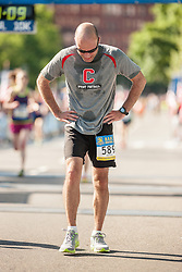 Boston Athletic Association 10K road race: Dennis Costello