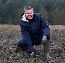 **All images embargoed until 00:01 6 February**<br /> <br /> Derek Mackay Tree Planting, 5 February 2020<br /> <br /> Finance Secretary Derek Mackay visited Thornton Wood near Kelty in Fife ahead of publishing the Scottish Budget on Thursday 6 February.<br /> <br /> Tackling the global climate emergency will be at the heart of this week's Budget.<br /> <br /> During the visit, Mr Mackay planted a tree as part of the Scottish Government's commitment to support forestry creation through planting 12,000 hectares of woodland this year. This will be supported by an additional £5 million investment.<br /> <br /> The site is run by Forestry and Land Scotland, and is a former opencast mining site which is now being restored to forestry.<br /> <br /> Pictured: Finance Secretary Derek Mackay <br /> <br /> Alex Todd | Edinburgh Elite media