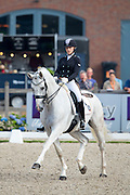Ines Knoll - FBW Fairplay H<br /> Longines FEI/WBFSH World Breeding Dressage Championships for Young Horses 2016<br /> © DigiShots
