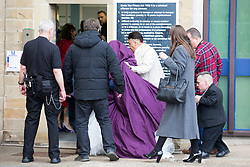 © Licensed to London News Pictures. 02/11/2017. Leeds, UK. Picture shows Leeds magistrates court this morning as Two teenagers arrested in Northallerton by counter-terrorism police at the weekend are due to appear at Leeds magistrates court this morning after being charged with conspiracy to murder. The pair both 14 years old were arrested at their homes on Saturday & have been remanded in custody. Photo credit: Andrew McCaren/LNP