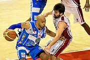 DESCRIZIONE : Pistoia Lega A 2014-2015 Giorgio Tesi Group Pistoia Banco di Sardegna Sassari<br /> GIOCATORE : David Logan<br /> CATEGORIA : palleggio fallo<br /> SQUADRA : Banco di Sardegna Sassari<br /> EVENTO : Campionato Lega A 2014-2015<br /> GARA : Giorgio Tesi Group Pistoia Banco di Sardegna Sassari<br /> DATA : 20/10/2014<br /> SPORT : Pallacanestro<br /> AUTORE : Agenzia Ciamillo-Castoria/GiulioCiamillo<br /> GALLERIA : Lega Basket A 2014-2015<br /> FOTONOTIZIA : Pistoia Lega A 2014-2015 Giorgio Tesi Group Pistoia Banco di Sardegna Sassari<br /> PREDEFINITA :