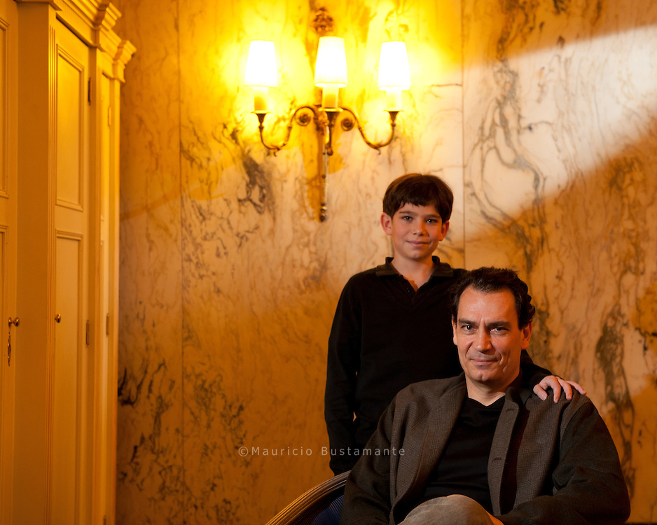 """Der elfjährige Jonatan spielt im Film """"Simon"""", der am Donnerstag ins Kino kommt. Simon begibt sich auf die Suche nach seinen Eltern, deutschen Juden. Das Gleiche machte übrigens Jonatans Vater. Seine jüdischen Vorfahren stammten aus Hamburg."""