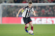 Grimsby Town midfielder Jake Hessenthaler (7) during the The FA Cup 3rd round match between Crystal Palace and Grimsby Town FC at Selhurst Park, London, England on 5 January 2019.