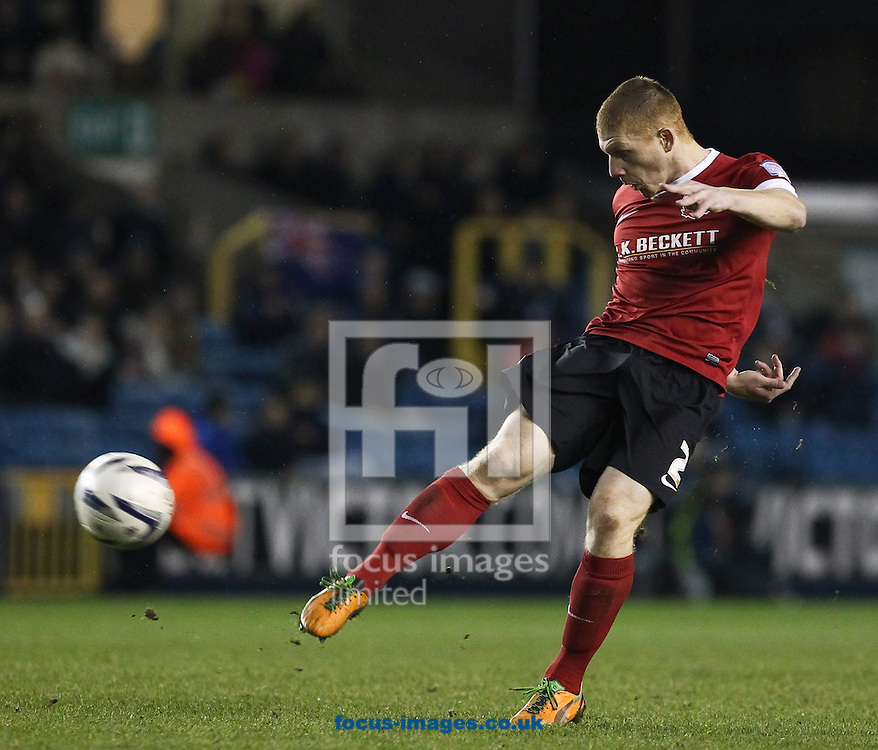Picture by John  Rainford/Focus Images Ltd +44 7506 538356.22/12/2012.Bobby Hassell of Barnsley during the npower Championship match at The Den, London.