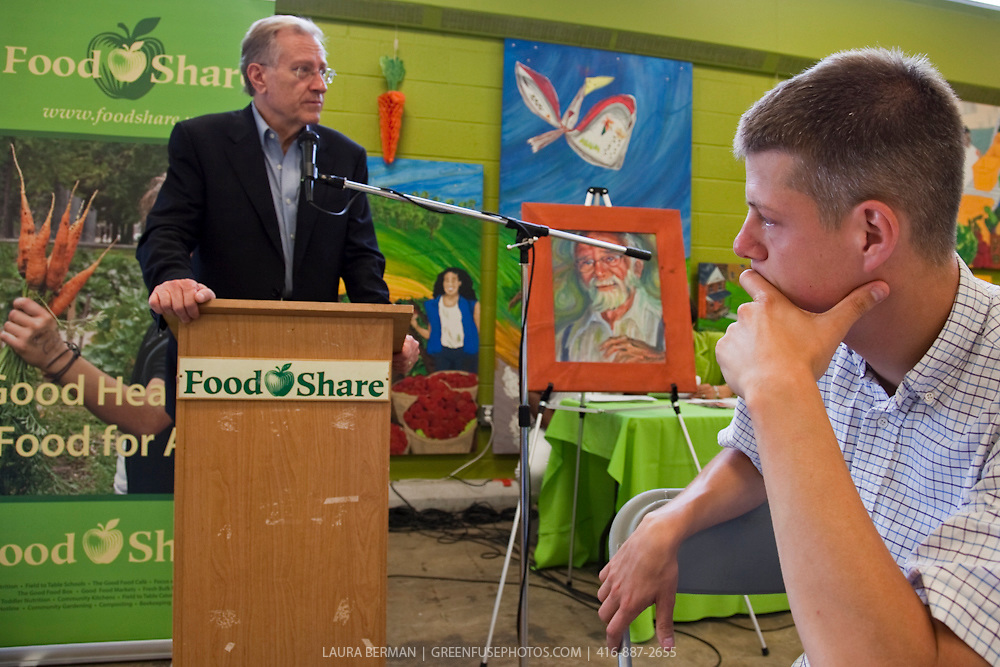 Art Eggleton, Canadian Senator.