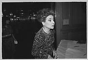 Cindy Adams, Joey Adams party. New York. 7/1/90.