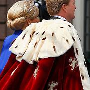NLD/Amsterdam/20130430 - Inhuldiging Koning Willem - Alexander, Koning Willem - Alexander en Konining Maxima