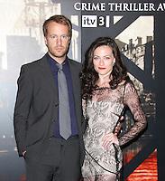 Geoffrey Streatfeild; Lara Pulver Specsavers Crime Thriller Awards, Grosvenor House Hotel, London, UK. 07 October 2011. Contact: Rich@Piqtured.com +44(0)7941 079620 (Picture by Richard Goldschmidt)