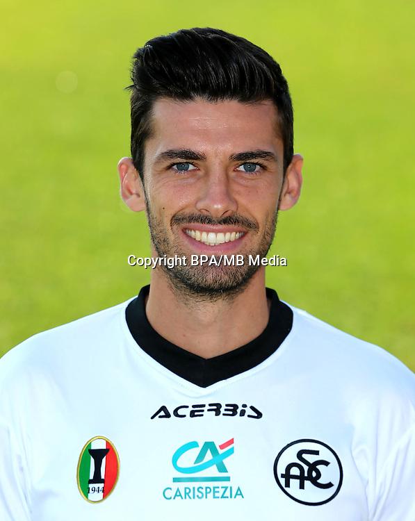 Italian League Serie B -2016-2017 / <br /> ( Spezia Calcio 1906 ) - <br /> Daniele Sciaudone