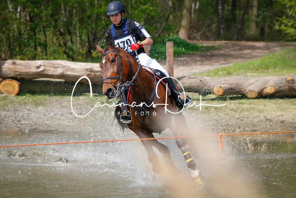 Renda  Giuliano, BEL, Briscola du B&amp;A<br /> Nationale LRV-Eventingkampioenschap Minderhout 2017<br /> &copy; Hippo Foto - Kris Van Steen<br /> 30/04/17